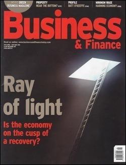 """Magazine """"Business & Finance"""" (May, 2010)"""