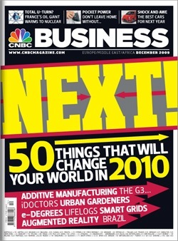 "Magazine ""CNBC"" (December, 2009)"