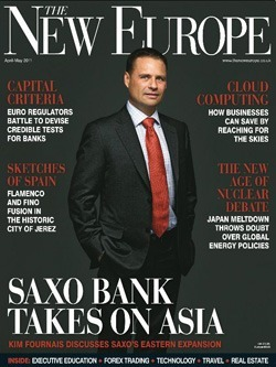 """Magazine """"The New Europe"""" (April–May, 2011)"""