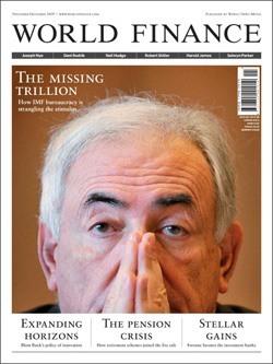 """Magazine """"World Finance"""" (November, 2009)"""