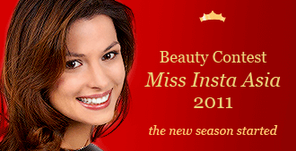 Beauty Contest Miss Insta Asia 2011