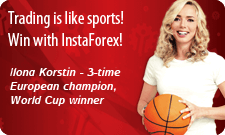 Ilona Korstin – new victories with InstaForex