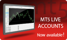 MT5 live accounts